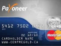 Payoneer Request a Master Card